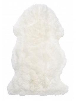 Skinnwille Gently valkoinen kiiltävä lampaantalja vauvalle. Talja in iso ja muhkea. Sopii täydellisesti lapsikuvauksiin ja sisustukseen. Lapsiperheiden suosikki!