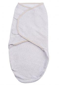 Vauvan swaddleMe kapalo, joka rauhoittaa ja luo turvallisen olon vauvalle. Materiaalina hengittävä puuvilla.