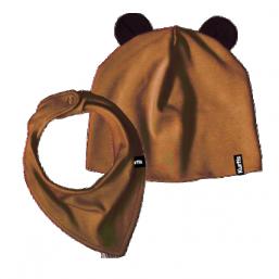 Nallepipo & kuolalappu (ruskea)
