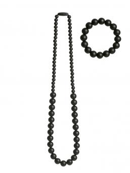 Imetyskoru ja rannekoru (musta)