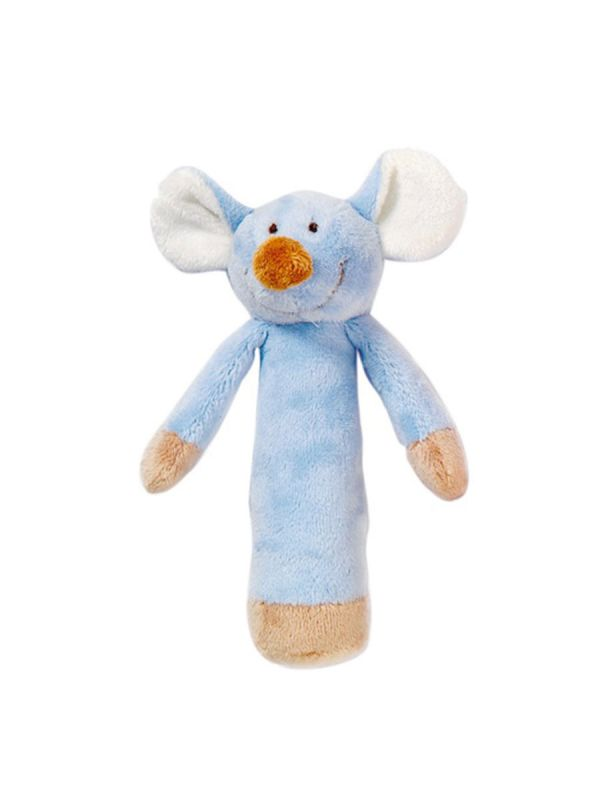 Teddykompaniet pehmeä helistin (sininen hiiri)