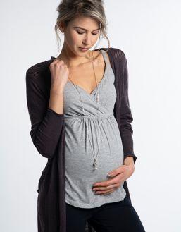 Bolakoru äidille teräsketjulla, Babybell Small Crystal | PROUD MAMA