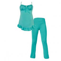 Raskaus- ja imetysajan pyjama DELICIOUS (celadon)
