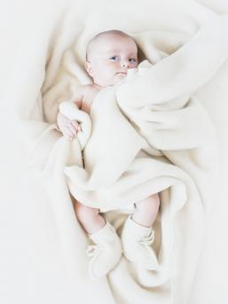 Vauvan merinovillaiset tossut | LANAcare