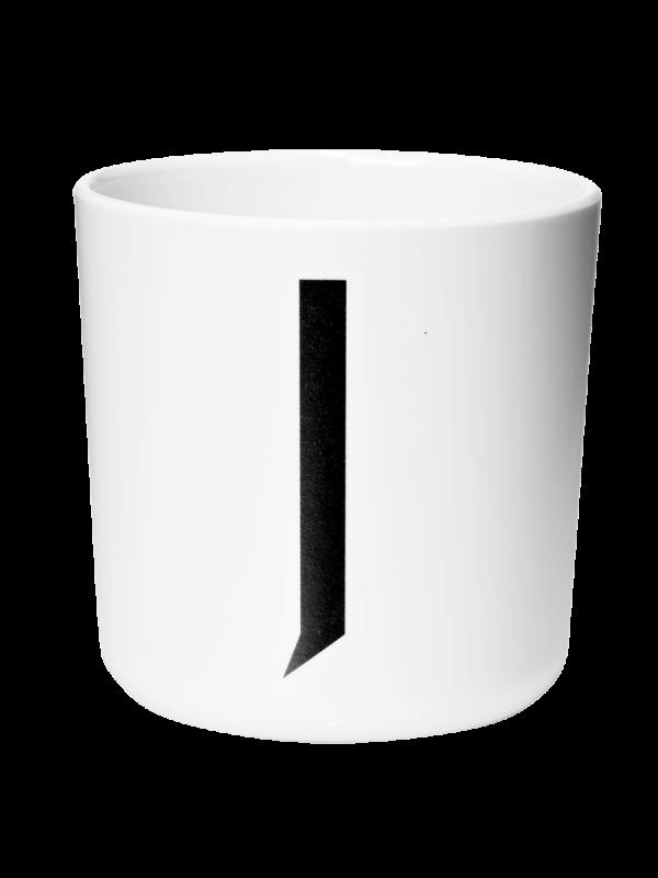 Design Letters Arne Jacobsen kuppi, valkoinen A-Z