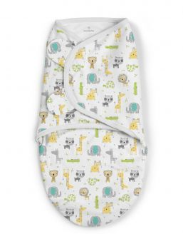 SwaddleMe vauvan kapalo, joka rauhoittaa ja luo turvallisen olon vauvalle. Materiaalina hengittävä puuvilla.