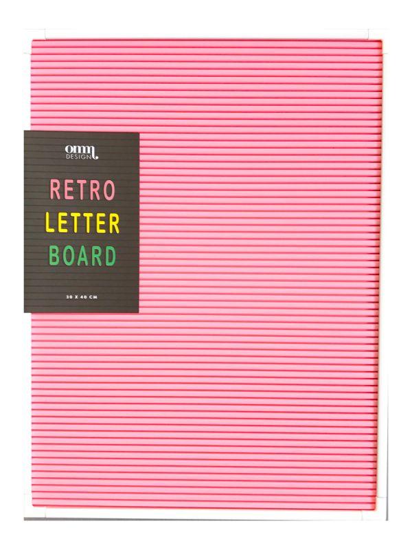 Letter Board kirjaintaulu / käytävätaulu ihastuttamaan sisustusta! Kirjoita viesti, mietelause tai juhliesi menu kirjaintaululle.