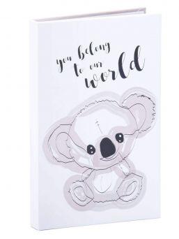 Luklabel Neuvolakorttikotelo, joka soveltuu äidin äitiysneuvolakortille ja lapsen synnyttyä lapsen omalle neuvolakortille.