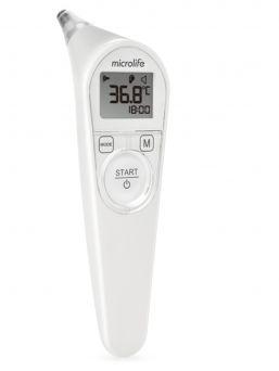 Ergonominen Microlife IR210 Digitaalinen korvakuumemittari. Mittaa jopa nukkuvan lapsen ruumiinlämmön herättämättä. Nopea ja helppokäyttöinen korvakuumemittari.