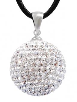 BOLA - kristalli 20mm (valkoinen)