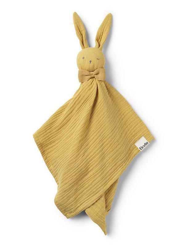 Elodie Detailsin Blinkie Goldie Gold harsopupu on vauvan pehmeä ystävä, joka toimii myös unileluna. Pehmeä ja kooltaan juuri sellainen, että se kulkeutuu helposti mukana mihin tahansa.