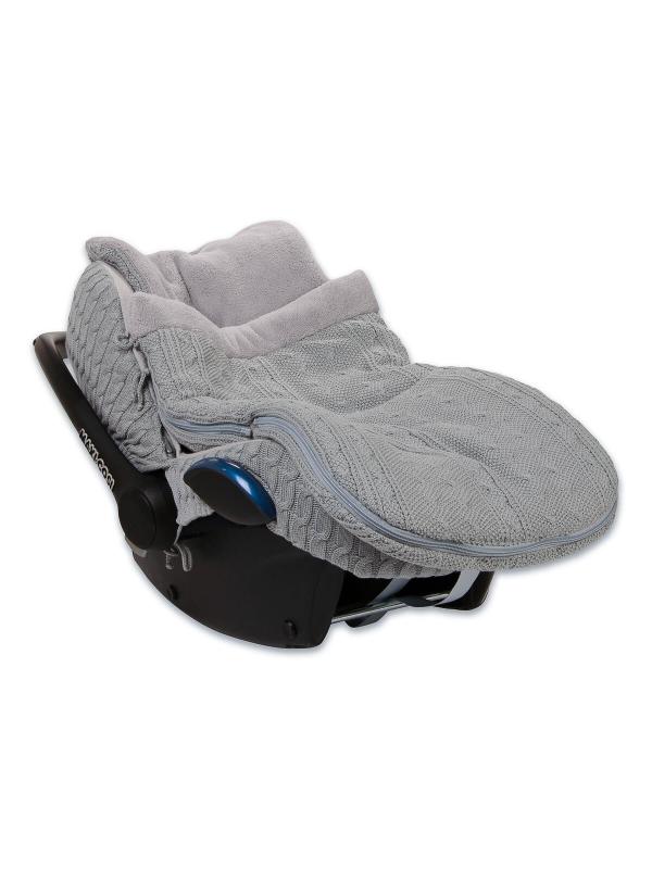 Lämpöpussi turvakaukaloon/ vaunuihin | Baby's Only (harmaa)