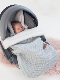 Lämpöpussi turvakaukaloon/ vaunuihin | Baby's Only (FLAVOR harmaa)