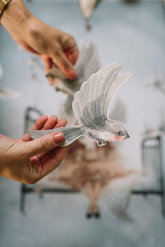 Mrs Mighetto Oh Birds (DIY) 3-pack