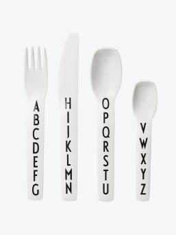Design Letters lasten ruokailuvälineet ABC