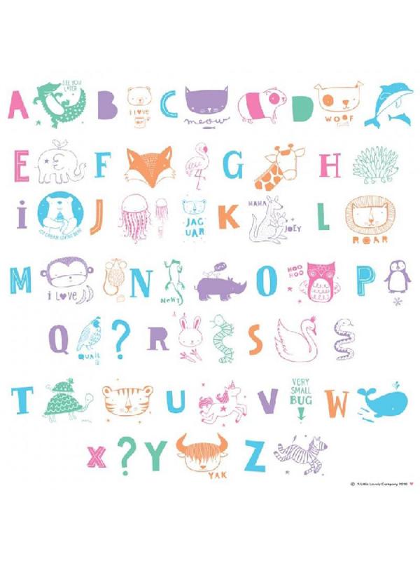Lightbox – lisäkirjaimet (lasten pastelli)