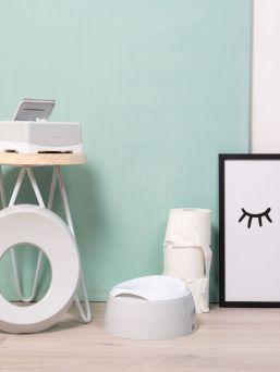 Kaunislinjainenja vaaleasävyinen Luma potta kodin wc tilaan.