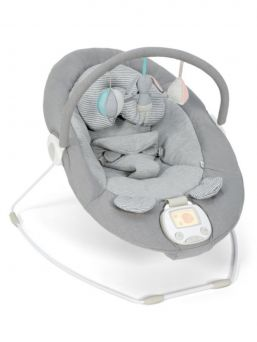 Mamas & Papas Apollo Grey Melange ergonominen sitteri, joka tuudittaa vauvan uneen. Apollo -sitteri on edistyksellisempi versio Capella versiosta. Musiikin ja värinän lisäksi Apollo sitterissä on valittavana rauhoittava bounce-toiminto, joka jäljittelee äidin sydänmenlyöntejä.