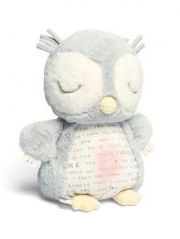 Pöllönpoika Owlbie auttaa vauvan rauhoittavaan uneen. Jalasta kevyesti painamalla syttyy pöllön mahaan himmeä yövalo. Siivestä painamalla alkaa pöllö soittamaan rauhoittavaa melodiaa.