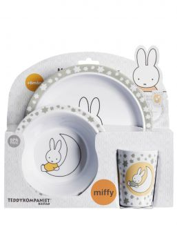 Miffy ruokailusetti 6kk+