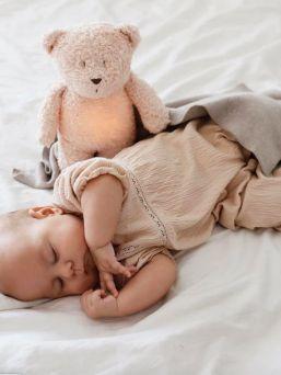 Moonie uninalle - rauhoittaa lapsen unille, rose