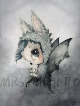 Mrs Mighetto Mr Edward juliste lastenhuoneeseen. Juliste toimitetaan pahviputkessa, jossa mukana hahmosta kertova tarina englanniksi ja ruotsiksi. LIMITED EDITION - tätä julistetta on tehty vain tämä erä. Rajoitettu painos, kun se on loppuunmyyty, se loppuu ikuisesti.