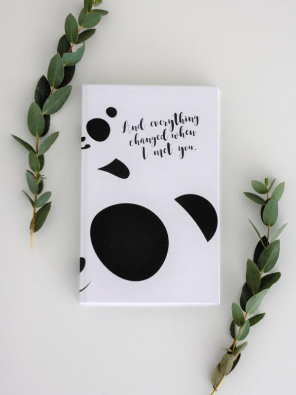 Neuvolakorttikotelo (Panda)