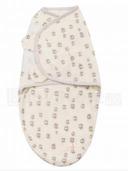 Vauvan kapalo SwaddleMe, joka rauhoittaa ja luo turvallisen olon vauvalle. Materiaalina hengittävä puuvilla. Kapalossa vauva tuntee jälleen kohdun turvallisen olon ja se rauhoittaa vauvaa. Kapalo myös estää vauvan sähsähdyksestä syntyvät heräämiset.