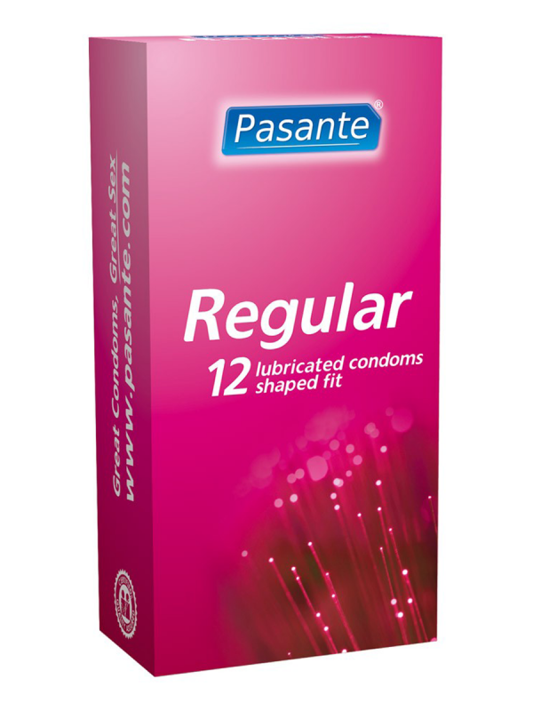 Pasante Regular kondomi 12kpl