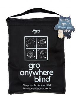 Pimennysverho imukupilla. Valoisa kevät ja kesä tuo haasteita lapsen unirytmiin. Gro Companyn GroAnywhere Blind – pimennysverhon avulla saat luotua lapsen omaan huoneeseen helposti ja vaivattomasti pimeän uniympäristön.