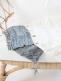 Neule unipussi vauvalle (valkoinen)