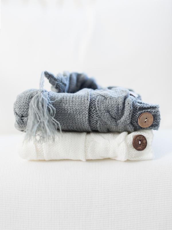Neule unipussi vauvalle (harmaa)