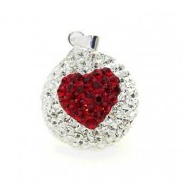 BOLA - kristalli 18mm (sydän)