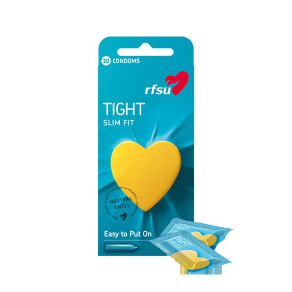 Tight Slim Fit kondomi 10kpl