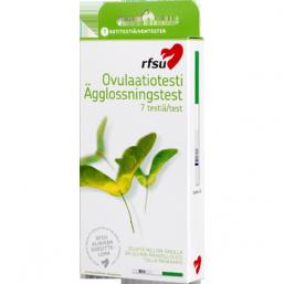 RFSU ovulaatiotesti, 7 testiliuskaa