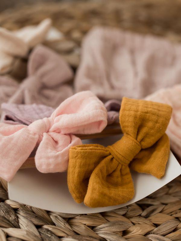 Rusettipanta Muslin collection (peacy pink) | GIPSYPARROT