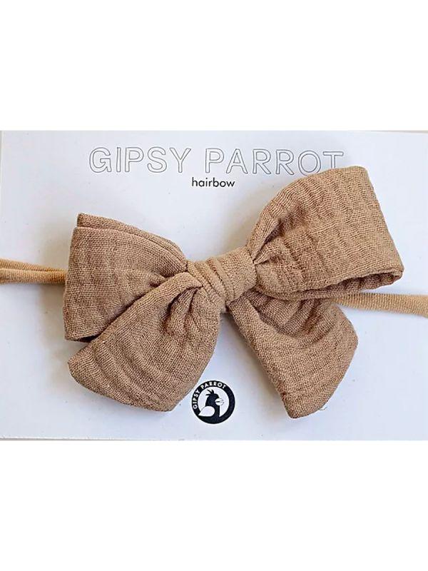 Rusettipanta Muslin collection (beige) | GIPSYPARROT