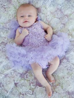 Tutu body vauvalle (lavender)