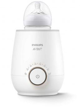 Avent pullonlämmitin lämmittää maidon hellävaraisesti ja tasaisesti vain 3 minuutissa. Laitteessa on myös kätevä sulatustoiminto, ja se tuo tyylikkään lisän keittiöön!