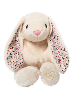 Pehmeä suloisuus, Whisbear kohina pupu, The Humming Rabbit auttaa lasta nukahtamaan pinkin kohinaäänen avulla. Kohina pupussa on CRYsensor - itkusensori jonka avulla laite havaitsee vauvan itkun, ääntelyn ja liikehtimisen ja käynnistää kohina äänen uudelleen.