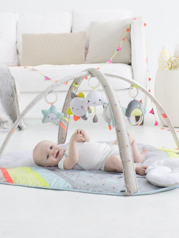 Silver Lining Cloud Leikkikaari + vauvan tukityyny