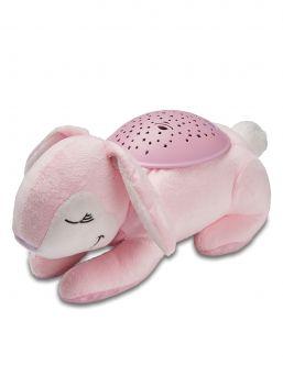 Upean Slumber Buddies tähtikuvioinnin kattoon tekevä yövalo. Yövalo tekee lapsesi nukkumaanmenosta rauhoittavaa.