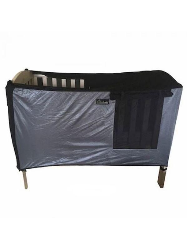 SnoozeShade pinnasängyn pimennysverho - apu huoneisiin joita on vaikea pimentää.