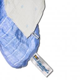 SNUTTEN harsot 3+3kpl (v.sininen-v.siniset tähdet)