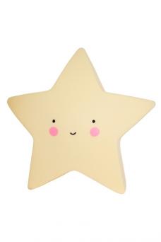 Tähti yövalo (keltainen)