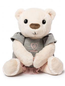 Pehmeä suloisuus, Whisbear kohina nalle, The Humming Bear auttaa lasta nukahtamaan pinkin kohinaäänen avulla. Kohina nallessa on CRYsensor - itkusensori jonka avulla laite havaitsee vauvan itkun, ääntelyn ja liikehtimisen ja käynnistää kohina äänen uudelleen.