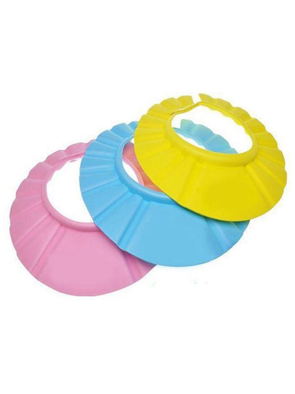 Vauvan suihkusuoja hattu suojaa lapsen silmiä eikä shampoo ja vesi pääse valumaan silmiin. Tee suihkuhetkistä entistä rennompia ja mukavampia suihkusuojan avulla.