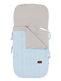Baby´s Only lämpöpussi pitää vauvan lämpöisenä turvakaukalossa ja vaunuissa. Lämpöpussin ansiosta vauvaa ei tarvitse riisua ja pukea jatkuvasti ulkovaatetuksesta, vaan vauva pysyy lämpöisenä pussin syleilyssä. Lämpöpussi tuo lämpöä ja pehmeyttä niin turvakaukaloon kuin vaunuihin ja rattaisiin. Lämpöpussissa on selänpuolella aukot 5pisteturvavöille.
