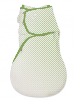 SwaddleMe Wrapsack kapalo 4-9kk (green dot)