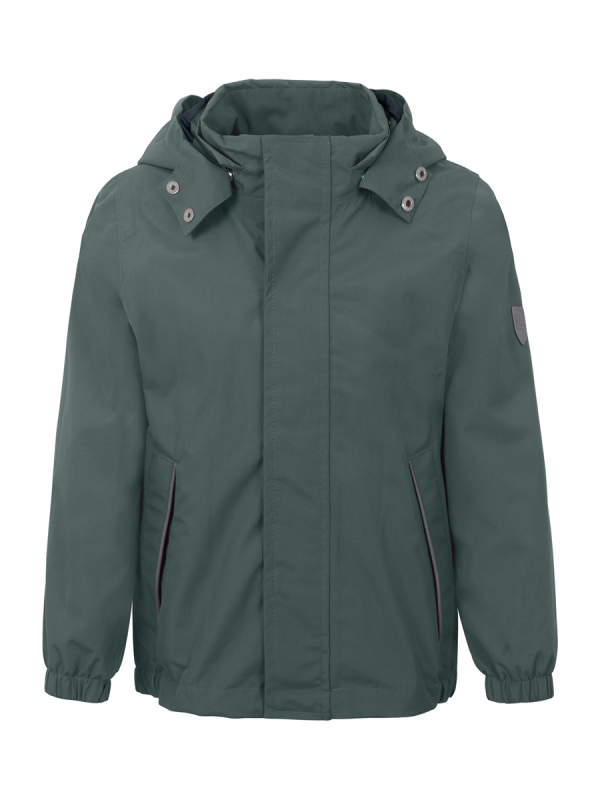 Plain rain set with fleece (duck green) | TICKET TO HEAVEN